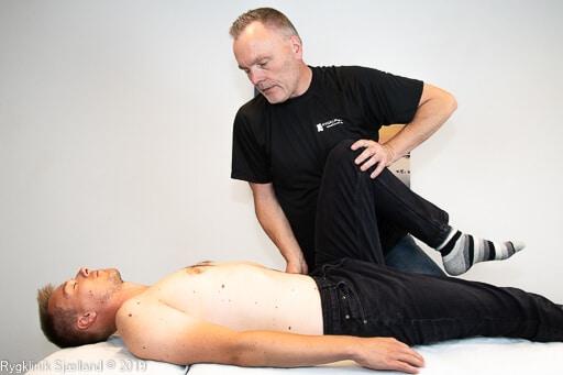 En stram hoftebøjer afspændes